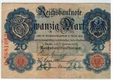 Bancnote Germania - 20 Marci 1912