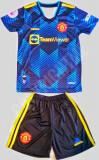 Compleu Echipament fotbal pentru copii RONALDO Man. United noul model 2021-2022