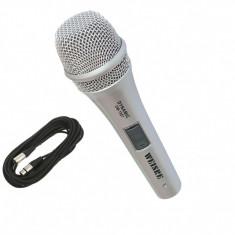 Microfon profesional cu fir 4 metri Weisre DM-1907
