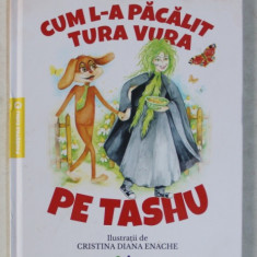 CUM L - A PACALIT TURA VURA PE TASHU de MIRELA RETEGAN , ilustratii de CRISTINA DIANA ENACHE , 2019