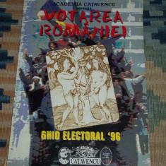 Academia Catavencu Votarea Romaniei ghid electoral 1996