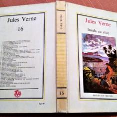 Insula cu elice. Editura Ion Creanga 1986, Nr. 16 - Jules Verne