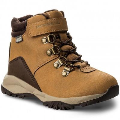 Bocanci Copii casual Piele impermeabili Merrell Alpine Casual Boot WTPF SelectDry foto