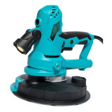 Slefuitor cu aspirator pentru pereti Detoolz, 750 W, 1600 rpm, 180 mm, LED, 6 discuri abrazive