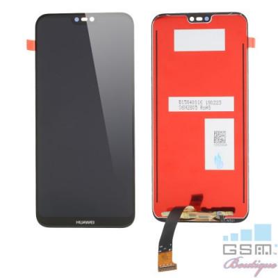Display Huawei P20 Lite / Nova 3e Negru OEM fara rama foto