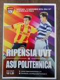 Programe meci Ripensia VS ASU POLI, Campionii FC Arges, Metaloglobus, UTA ARAD