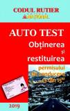 Codul rutier - Auto test 2019