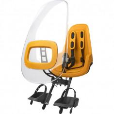 Paravant pentru scaun de bicicleta ONE Bobike, Galben/Mustar