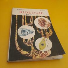 BIOLOGIE MANUAL CLASA X GH.NASTASESCU/ZOE PARTIN EDITURA DIDACTICA 1983