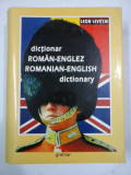 DICTIONAR ROMAN-ENGLEZ - GRAMAR - L.LEVITCHI