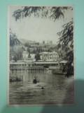 Sovata-lacul Ursul- vedere circulata 1955, Fotografie