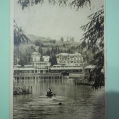 Sovata-lacul Ursul- vedere circulata 1955