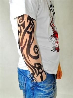 Maneca Elastica cu Tatuaj Tribal foto