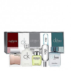 Calvin Klein Deluxe Fragrance Travel Collection Mini set