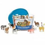 Set 60 Figurine - Animale de la ferma, Learning Resources