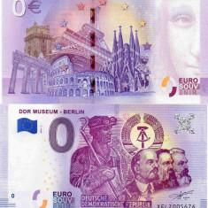 GERMANIA 2018 0 EURO SOUVENIR, BERLIN - MUZEUL DDR, UNC