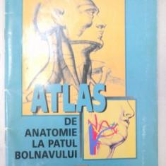 ATLAS DE ANATOMIE LA PATUL BOLNAVULUI-NICOLAE M. CONSTANTINESCU 1997