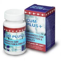 Cum Plus, supliment marire testosteron si volum sperma, 30 capsule