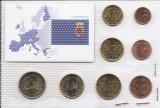 Luxemburg Set 8D - 1, 2, 5, 10, 20, 50 euro cent, 1, 2 euro 2005 - UNC !!!