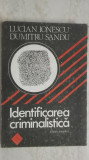 Lucian Ionescu, Dumitru Sandu - Identificarea criminalistica, 1990