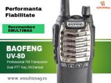 Statie Radio Walkie Talkie Baofeng UV-8D UHF 400 - 520MHz 16CH PROGRAMABILE 8W, radio UHF 65 - 108 MHz