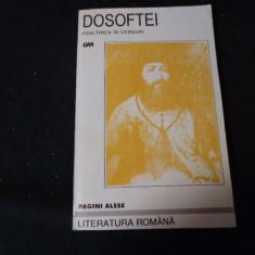 PSALTIREA IN VERSURI- PAGINI ALESE- DOSOFTEI-320 PG-