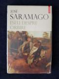 Eseu despre orbire – Jose Saramago (ed. cartonata)