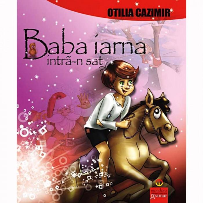 Baba Iarna intra-n sat - Otilia Cazimir