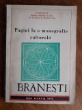 Branesti, monografie culturala / R4P2F, Alta editura