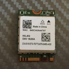 Modul Wireless AC BCM94350ZAE  867 Mbps socket M.2 (NGFF) Dell DW1820A