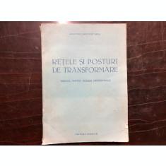 RETELE SI POSTURI DE TRANSFORMARE,MANUAL PENTRU SCOLILE PROFESIONALE