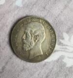 Moneda 5 Lei 1885 , replica 1:1