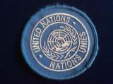 Emblema militară - Emblemă textilă - United Nations - Patch militar - ONU (1)