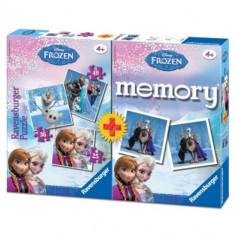 Puzzle si Joc Memory Frozen