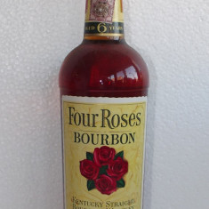 R A R E    whisky four roses, aged 6 years, cl 75 gr 43 ani 50/60