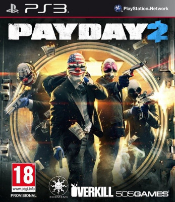 Payday 2 PS3 foto