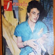 Revista femeia iulie 1987-articol si foto despre orasul bucuresti