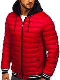 Cumpara ieftin Geacă de iarnă roșie Bolf 5331
