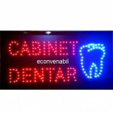 Reclama Luminoasa cu LED 55x33cm Cabinet Dentar