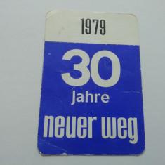 CCO 1979 - CALENDAR DE COLECTIE - STRAIN - GERMANIA - ANUL 1979