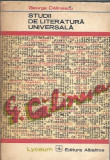 Studii de literatura universala - George Calinescu