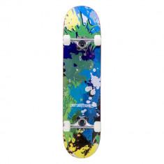 "Skateboard Enuff Splat Green/Blue 31.5x7,75"" foto"