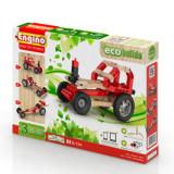 Set lego 3 modele masini, piese lemn, Eco Builds
