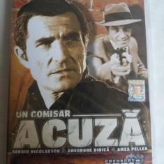 UN COMISAR ACUZA - DVD - SERGIU NICOLAESCU