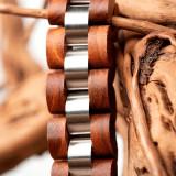 Cumpara ieftin Bratara din lemn, barbati S05-2