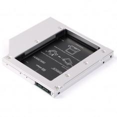 Adaptor HDD Caddy Orico HDD/SSD L95SS-V1, pentru unitati optice de tipul 9.5 mm