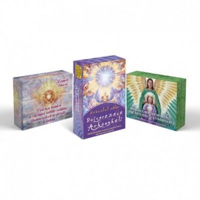 3 ORACOLE SPIRITUALE: ARHANGHELI + IUBIRE + VINDECARE foto