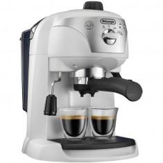 Espressor manual EC221.W, dispozitiv spumare, sistem cappuccino, 15 Bar, 1 l, oprire automata, Alb