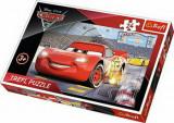 Puzzle maxi Cars 3 - Campionul Mcqueen, 24 piese, Trefl
