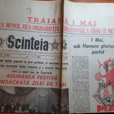 scanteia 1 mai 1986- marea adunare festiva consacrata zile de 1 mai
